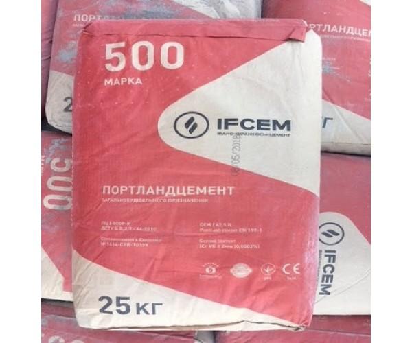 Цемент ПЦ І-500-Н, з-д Івано-Франківськ, 50 кг