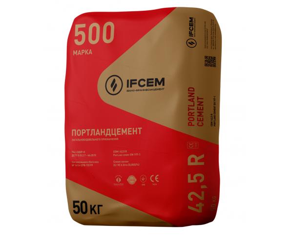 Цемент Івано-Франківський М-500, 50 кг