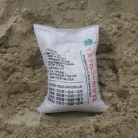 Песок фасованный в мешках