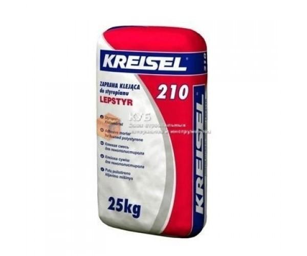 Клей для пінопласту і минваты Крайзель-210(Kreisel), 25кг
