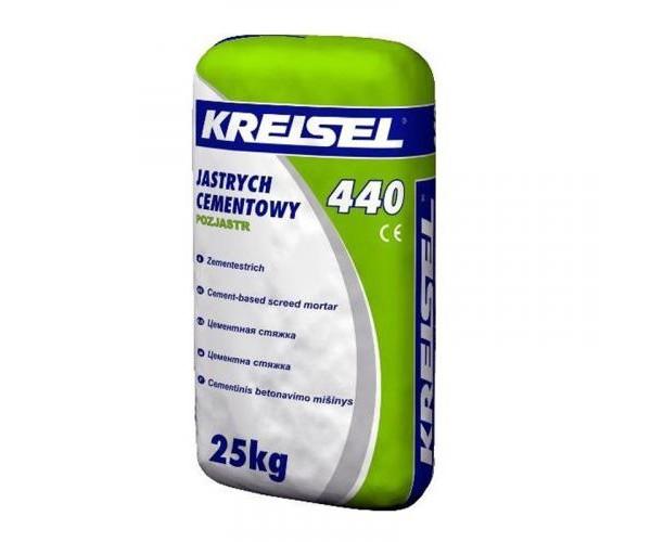 Стяжка цементная для пола Kreisel-440, 25кг