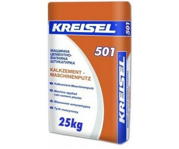 Штукатурка цементно-известковая Kreisel-501, 25 кг