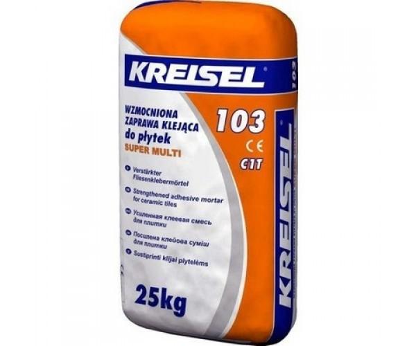 Клей для плитки Крайзель-103(Kreisel) посилений, 25кг