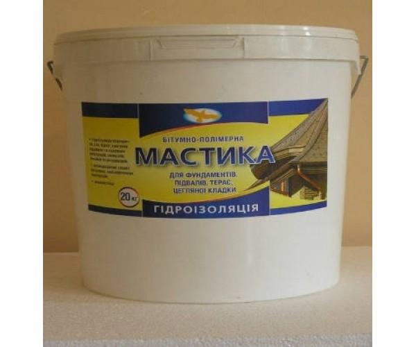 Мастика бітумно-масляна МБ-50, 20 кг