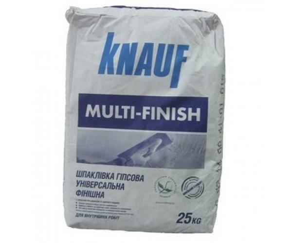 Шпаклівка Мультифініш Knauf, 25 кг
