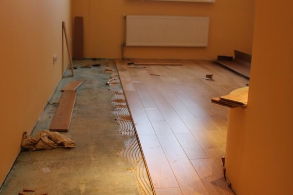 Обробка підлоги